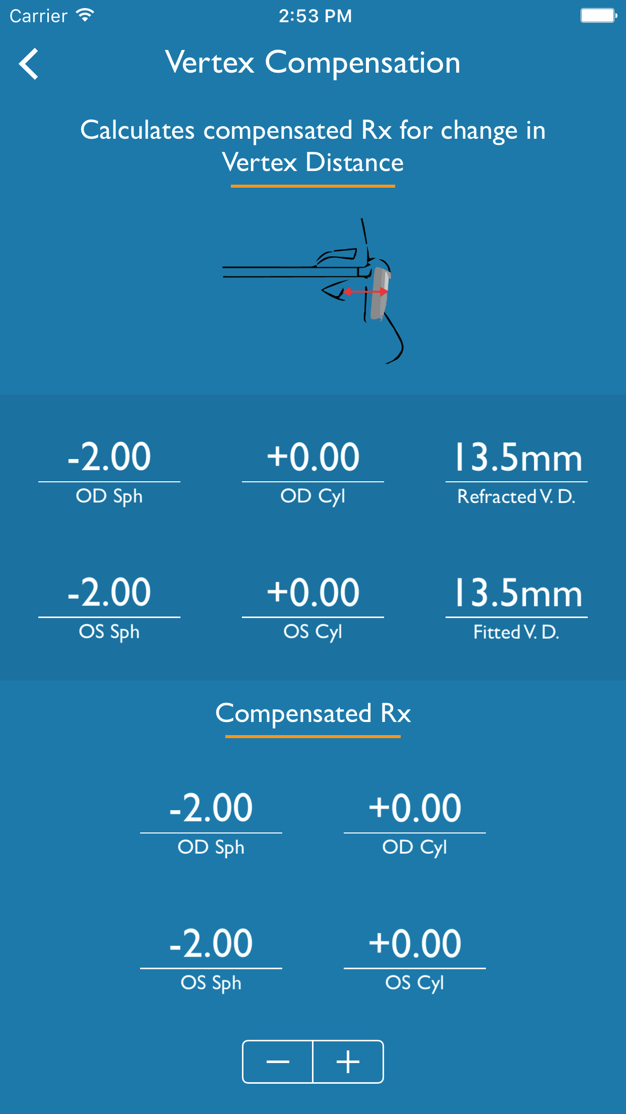 Optical calculator app lens shapers available nvjuhfo Image collections